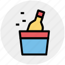 alcohol, birthday, bottle, celebration, drinking, party icon