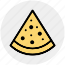 fast food, food, food pizza, pizza, pizza slice, slice icon