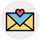 email, envelope, favorite, favorite email, heart, love message, message