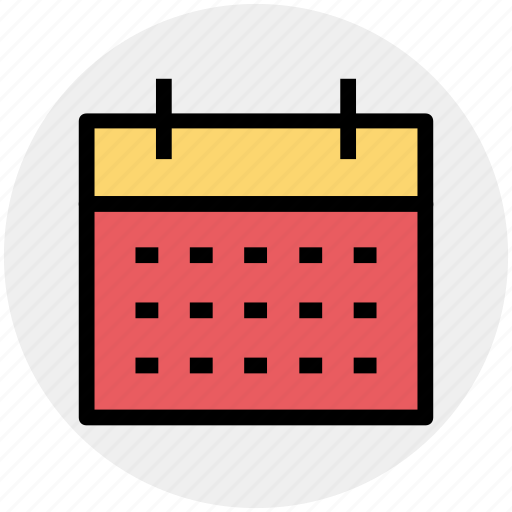 Calendar, date, day book, schedule, timeframe, yearbook icon - Download on Iconfinder