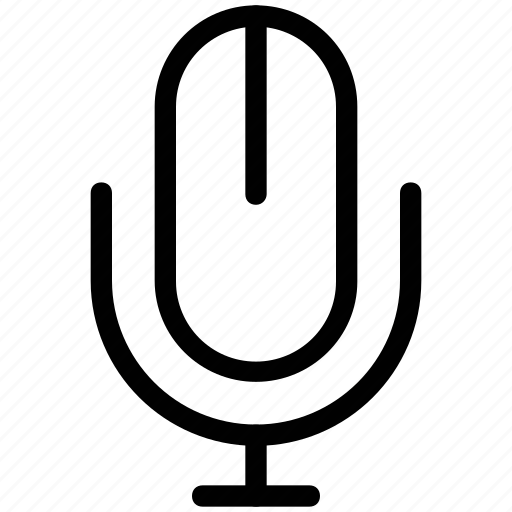 mic, microphone, mike, recorder mic icon