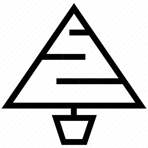christmas tree, fir, fir tree, flower, santa, snow, tree icon