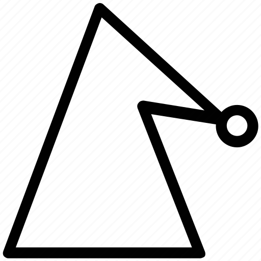 birthday cap, birthday clown, birthday cone hat, cone hat, party cap, party cone hat icon