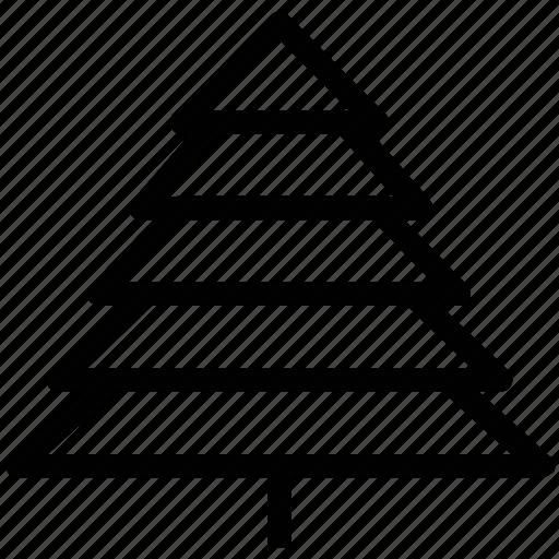 christmas tree, fir, fir tree, santa, snow, tree icon