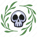 halloween, horror, skull, death, human, skeleton, spooky