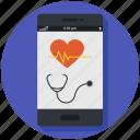 doctor, health, healthcare, medical app, medicine, mobile app icon, • care icon
