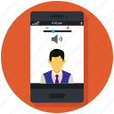 camera, communication, mobile, skype app, smartphone, video call icon, • call icon