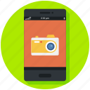 camera, mobile, phone, photo, photography, smart icon, • app icon