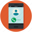 calling, calling app, commenation, contact, dial, mobile icon, • app icon