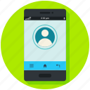 call, calling, contact, mobile, phone, smart icon, • app icon