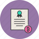 banking, bitcoin, business, certificate, financial, statement, ecommerce
