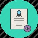 certificate, certification, rules, standard, access, document