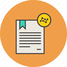 analysis, analytics, certificate, certified, data, document, statistics icon
