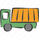 automobile, delivery, package, shipping, transport, transportation, truck icon
