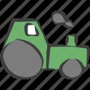 agriculture, automobile, farm, farmer, farming, tractor, vehicle icon