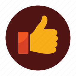 badge, champions, good, great, like, thumb, win icon