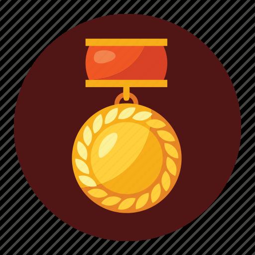 badge, champions, emblem, medals, ribbon, seal, win icon