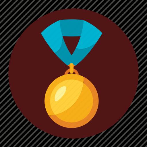 badge, champions, emblem, ribbon, seal, win, winnig icon