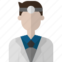 avatar, clinic, doctor, hospital, man, people icon