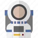 astronaut, avatar, people, space, universe icon