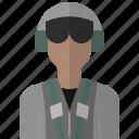 avatar, flight, man, people, person, pilot, plane icon
