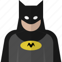 avatar, batman, cartoon, hero, people icon