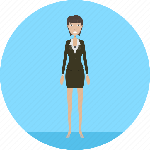 adult, business, businesslady, female, people, profession icon
