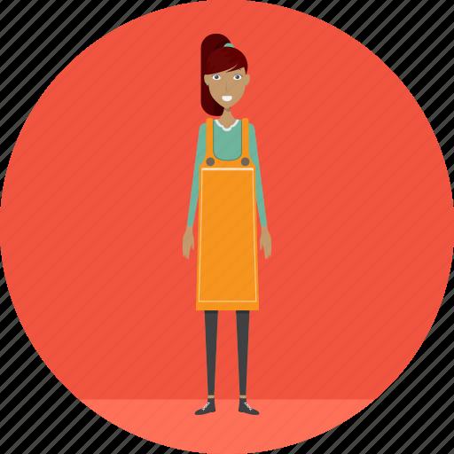 adult, cash, casierlady, female, people, profession, retail icon