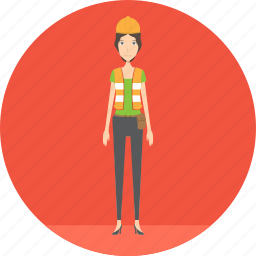adult, engineer, female, machine, people, profession, repair icon