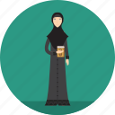adult, female, lecturer, muslimah, people, profession, religion icon