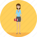 adult, exercise, female, people, profession, study, teacher icon