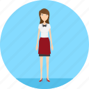 adult, female, people, profession, serve, wait, waitress icon
