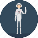 spaceman, people, science, profession, adult, male, astronout