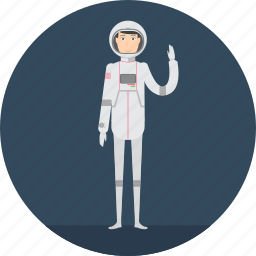 adult, astronout, male, people, profession, science, spaceman icon