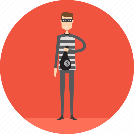 Adult, crime, criminal, male, people, profession, thief icon - Download on Iconfinder