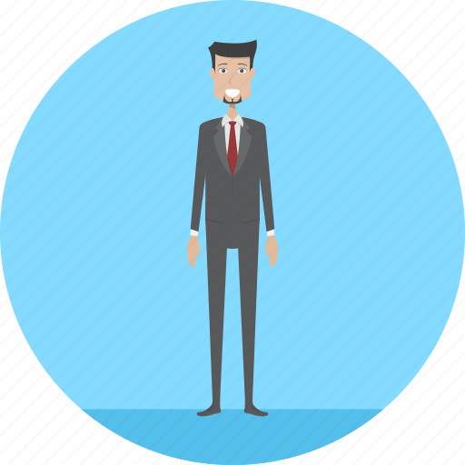 adult, employer, job, male, people, profession, task icon
