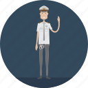 adult, male, people, police, policeman, profession, security icon