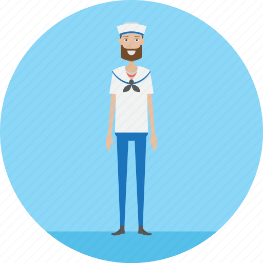 Adult, male, navy, people, profession, sail, sailor icon - Download on Iconfinder