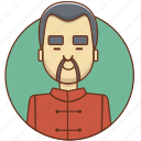 asian, cartoon, character, character set, chinese, man, person icon