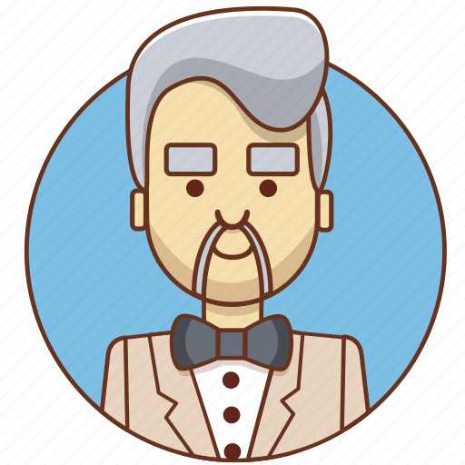 businessman, cartoon character, character set, investor, man, person, suit icon