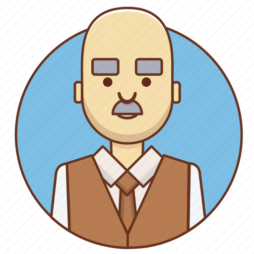 businessman, cartoon, character set, employeer, office, person, suit icon