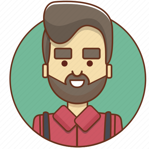 cartoon character, character, character set, hipster, man, person, style icon