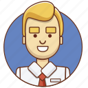 businessman, character, character set, employeer, entrepreneur, office, person icon