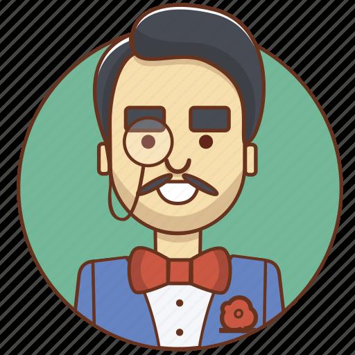 businessman, character, character set, genius, investor, person, sherlock icon