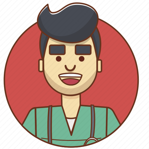 cartoon character, character, character set, doctor, man, nurse, person icon