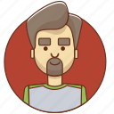 cartoon character, character, character set, guy, man, men, person icon