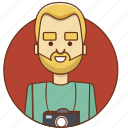 cartoon, character, character set, male, man, photo, photographer icon