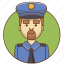 cartoon, character, character set, male, man, person, police icon