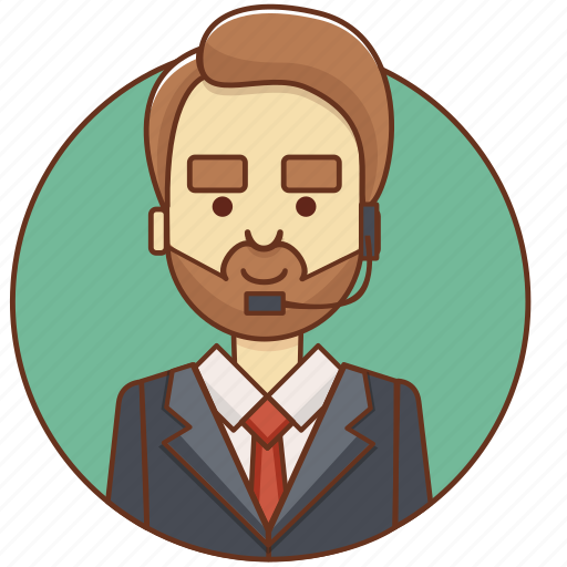 businessman, character, character set, customer service, guy, man, person icon