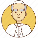 character, character set, church, male, man, person, reverend icon